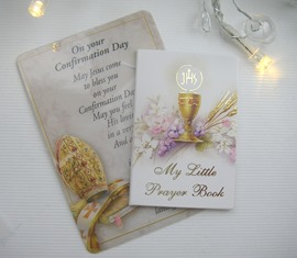 Boy's  Holy Communion jewellery gift